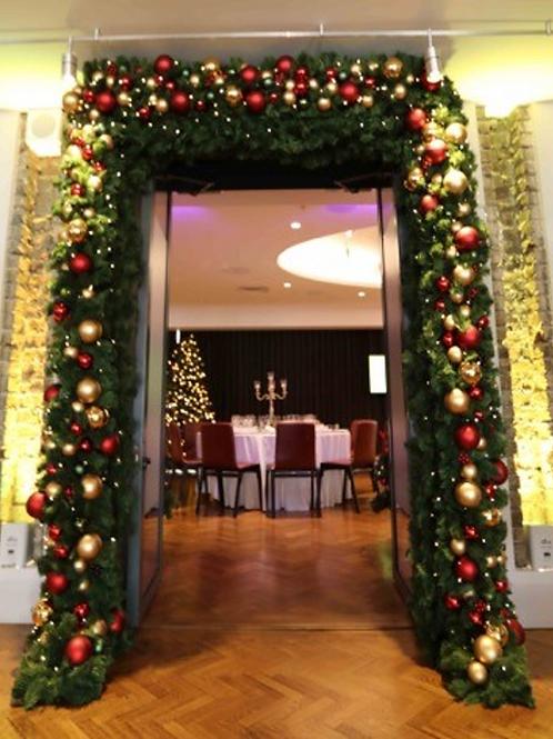 Internal Christmas Door Archway