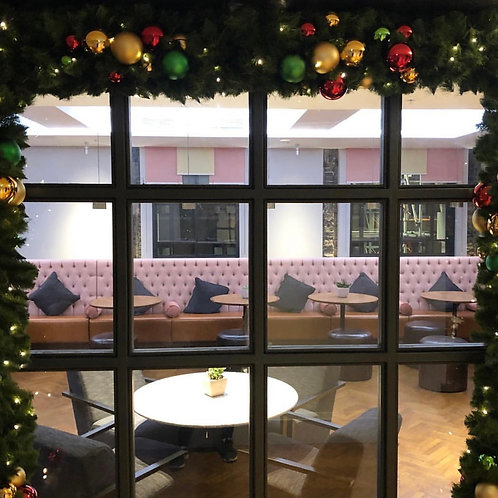 Window Christmas Archway