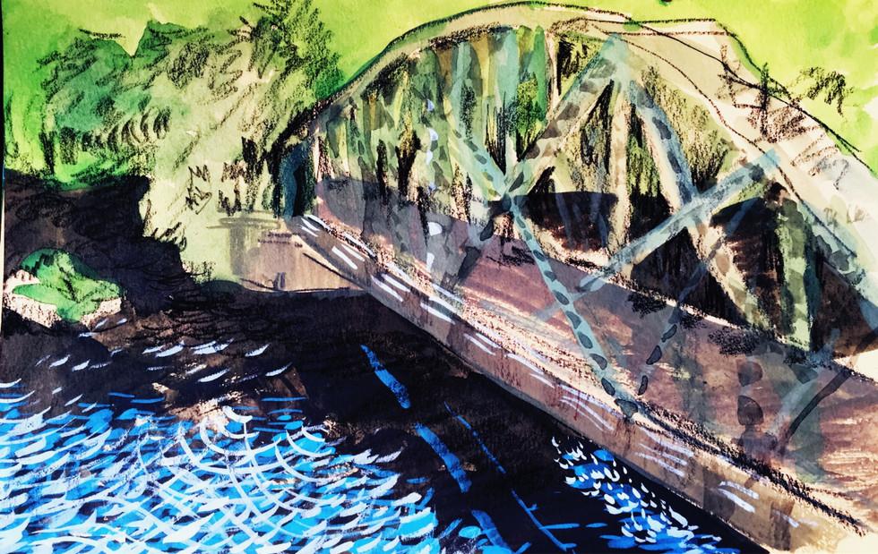 Bridge in Brattleboro, VT