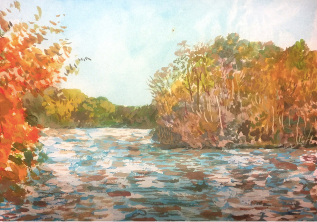 French Broad River, Biltmore Estate