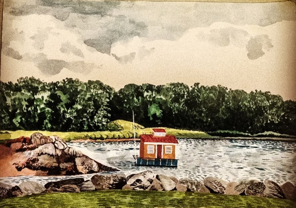 Floating House in Westchester County