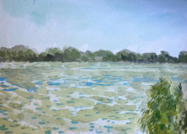 Mississippi River, October
