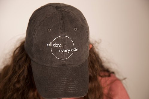 All Day Every Day Dad Hat (Black)