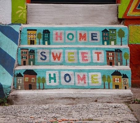 Home Sweet Home on Doorstep