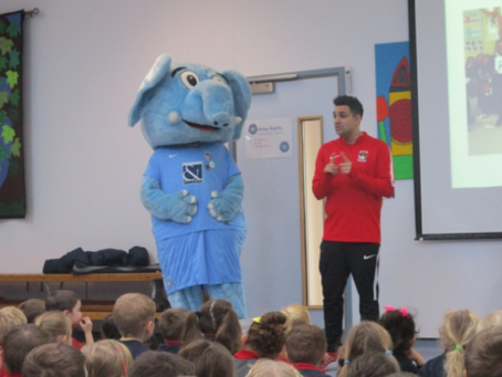 Coventry City Come to School