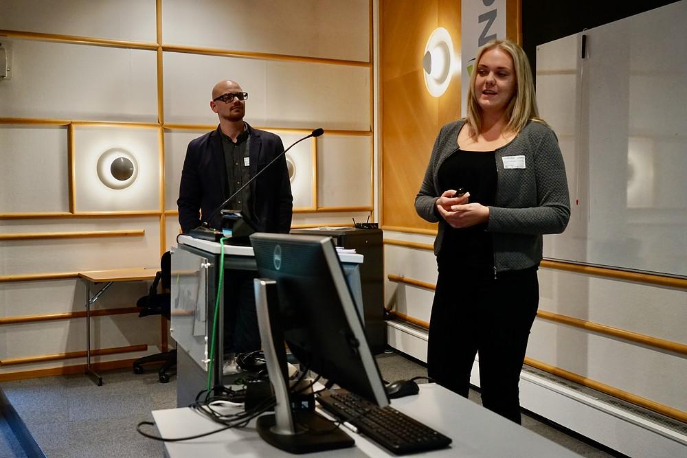 Jon Arild Aakre og Lise Birgitte Holteng, SESAM. FOTO: Hilde Garlid