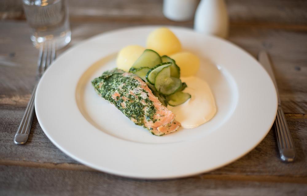 Med nok tid og god veiledning kan selv den mest uerfarne fremby maten både innbydende og appetittvekkende. Foto: Matvarehuset AS