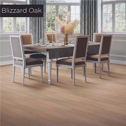 Blizzard Oak Waterproof Engineered Hardwood Flooring, Sample