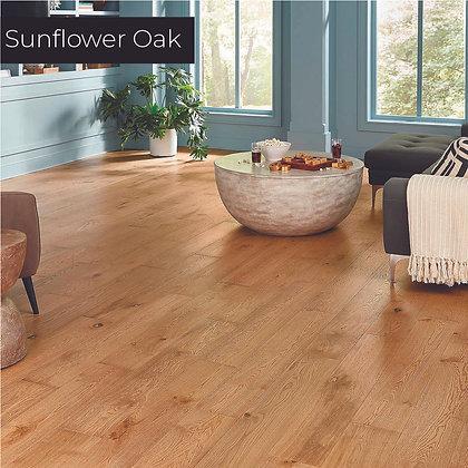 Sunflower Oak Waterproof Engineered Hardwood Flooring, Sample