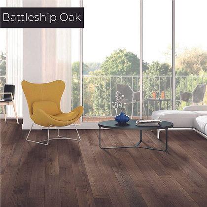 Battleship Oak Waterproof Engineered Hardwood Flooring, Sample