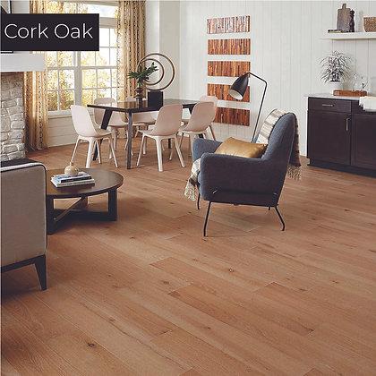 Cork Oak Waterproof Engineered Hardwood Flooring, Sample
