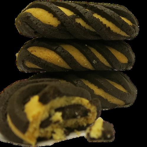 Glyken Birdnest Dark Chocolate Cookies