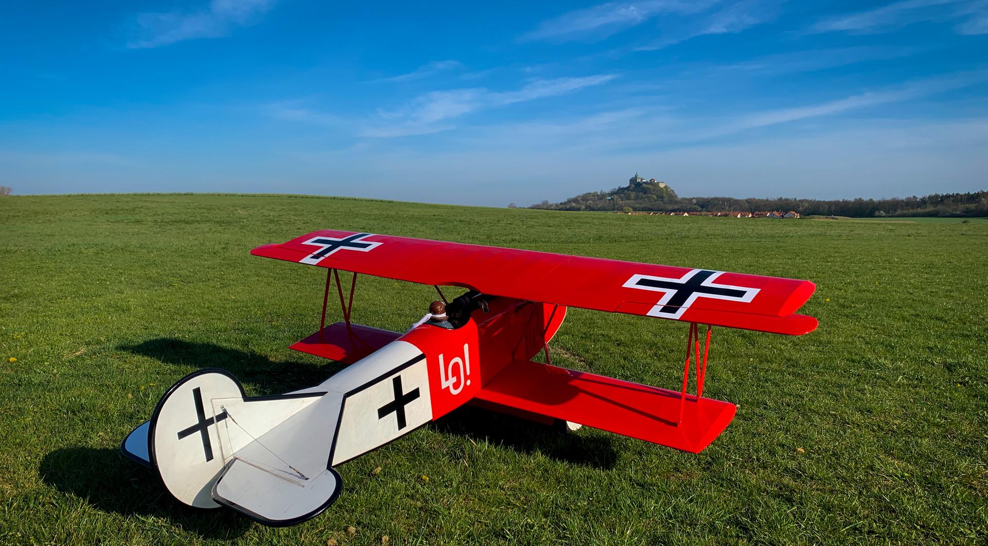 Fokker DVII.