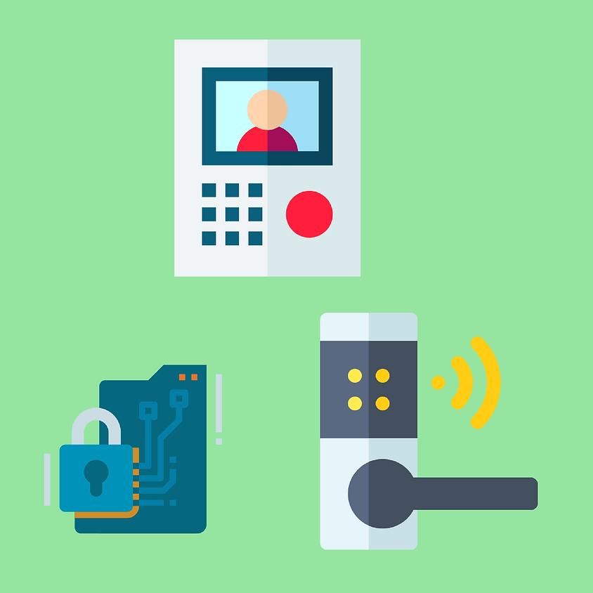 Controle de acesso, vídeo porteiro IP e fechaduras