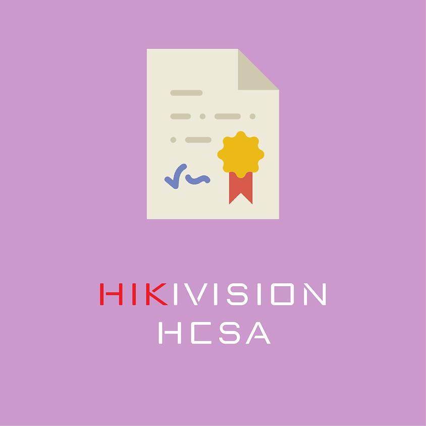 Certificação HIKIVISION HCSA