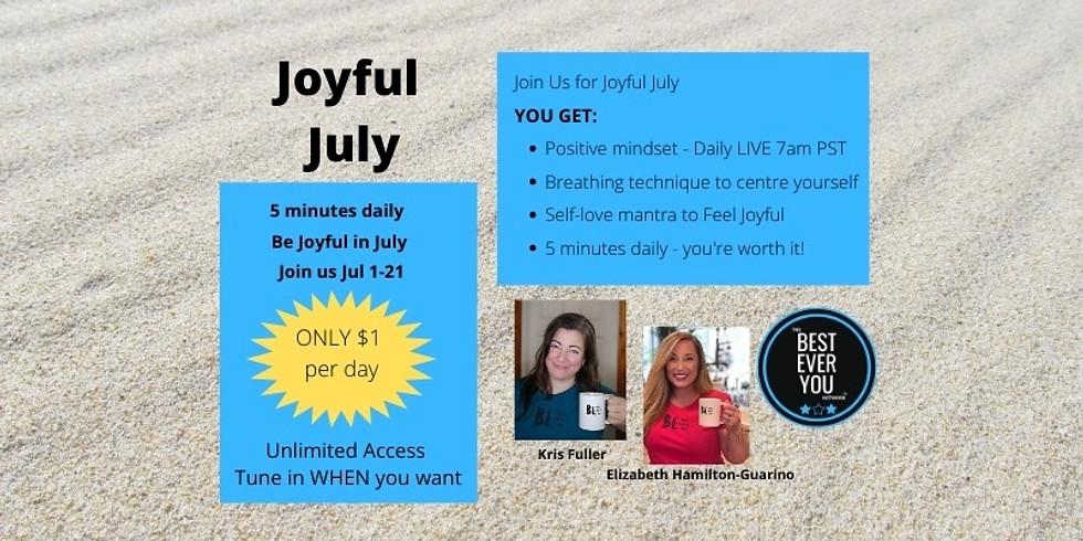 Joyful July