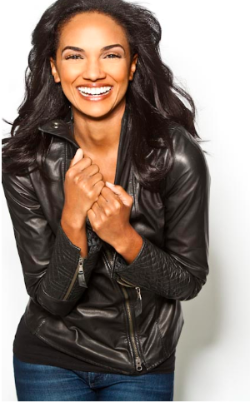 Nbc Chicago Med Actress Mekia Cox Cycles Her Way To A Healthy Mind Images, Photos, Reviews