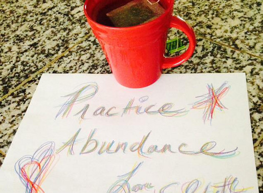Ask Elizabeth - How Can I Practice Abundance in 2016