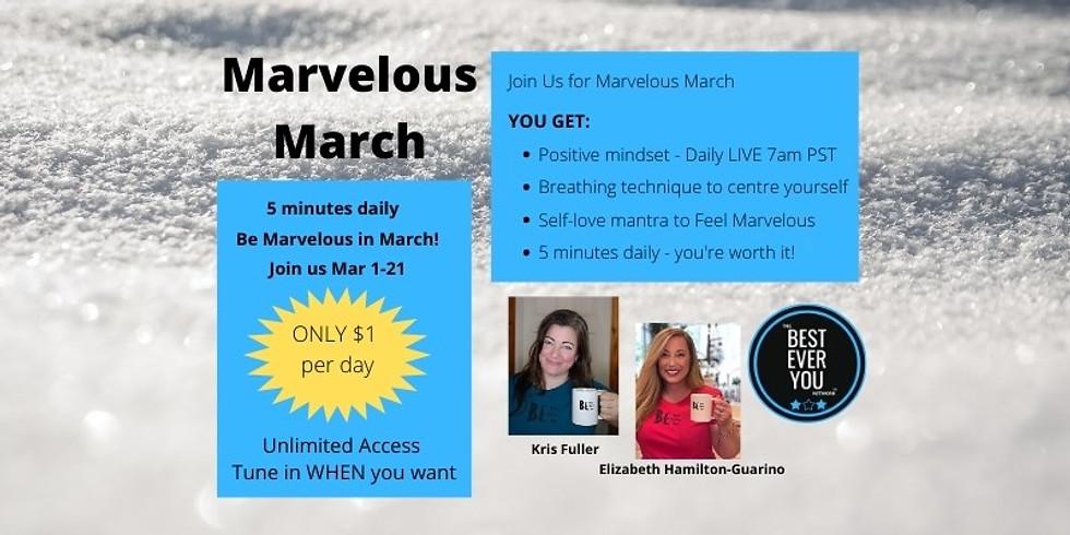 Marvelous March