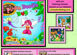 New Children's Book Pinky Doodle Bug Teaches Collaboration