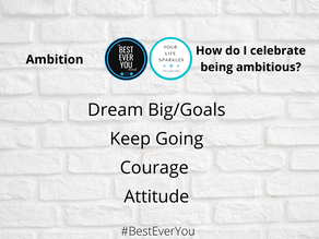 Being Your Best with Ambition