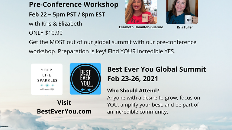 Pre-Conference Workshop - Your Incredible Yes!