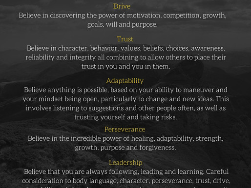 The Five Intangibles - Best Ever You