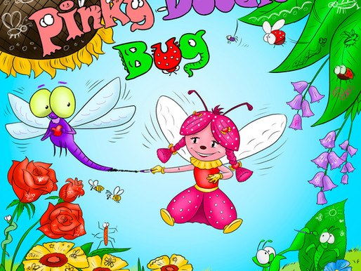 Pinky Doodle Bug - New Children's Book