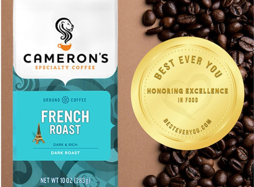 Cameron's Coffee - Gold Seal of Excellence in Food & Beverage