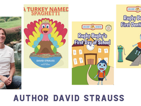 Featuring You - Meet Author David Strauss