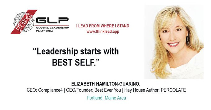 Elizabeth Hamilton Guarino on Global Leadership Platform with Adriaan Groenewalk