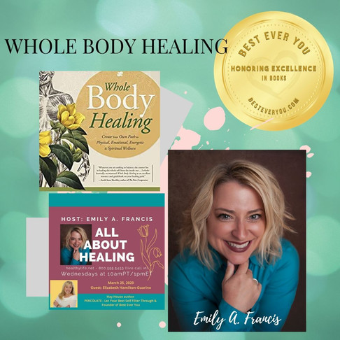 Whole Body Healing - Gold Seal of Excellence - Books