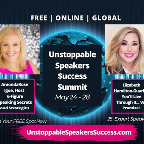 Join me at the Unstoppable Speakers Success Summit