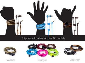 Elizabeth's Best - Wraps Wristband Headphones
