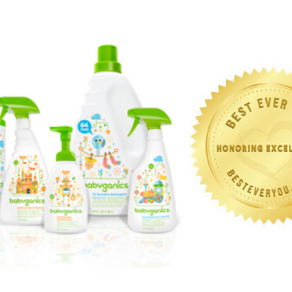 Babyganics - Gold Seal of Excellence - Parenting