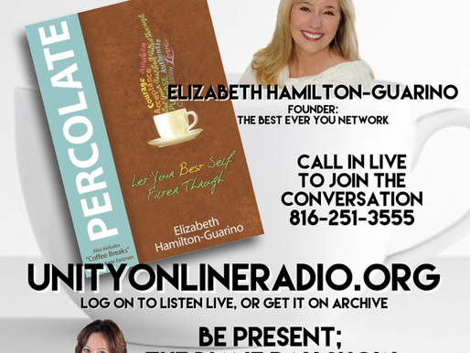 Elizabeth Hamilton-Guarino is Percolating with Diane Ray on Unity Radio!
