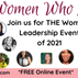 Join us at the Women Who Lead Summit