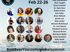 Please Join us for The Best Ever You Online Global Summit