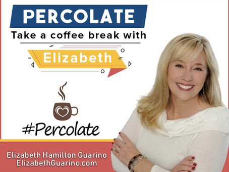 PERCOLATE - Take a Coffee Break with Elizabeth