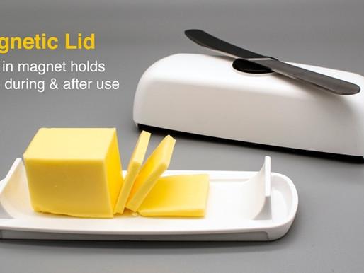 Butter Hub Butter Dish - Winner - Gold Seal of Excellence