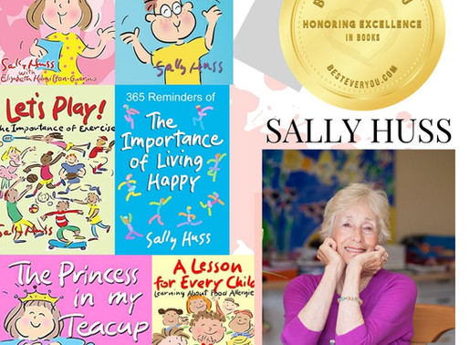 Sally Huss - Gold Seal of Excellence - Children's Books