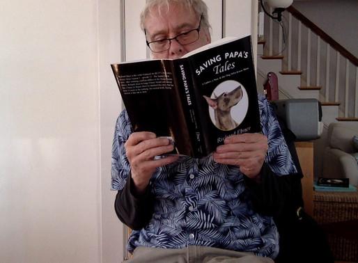 Featuring You - Meet Maine Author Richard Ebner - Saving Papa's Tales