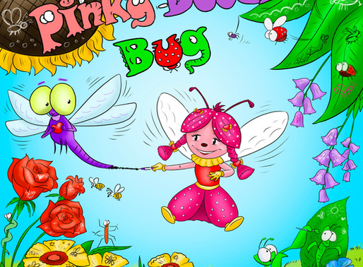 Pinky Doodle Bug Book Series Launch