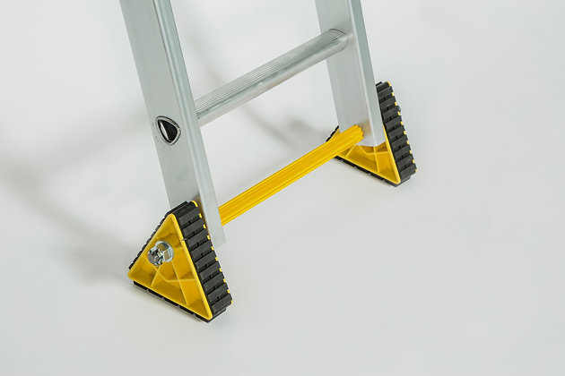 STABILISED DOUBLE EXTENSION TRIJAK LADDER