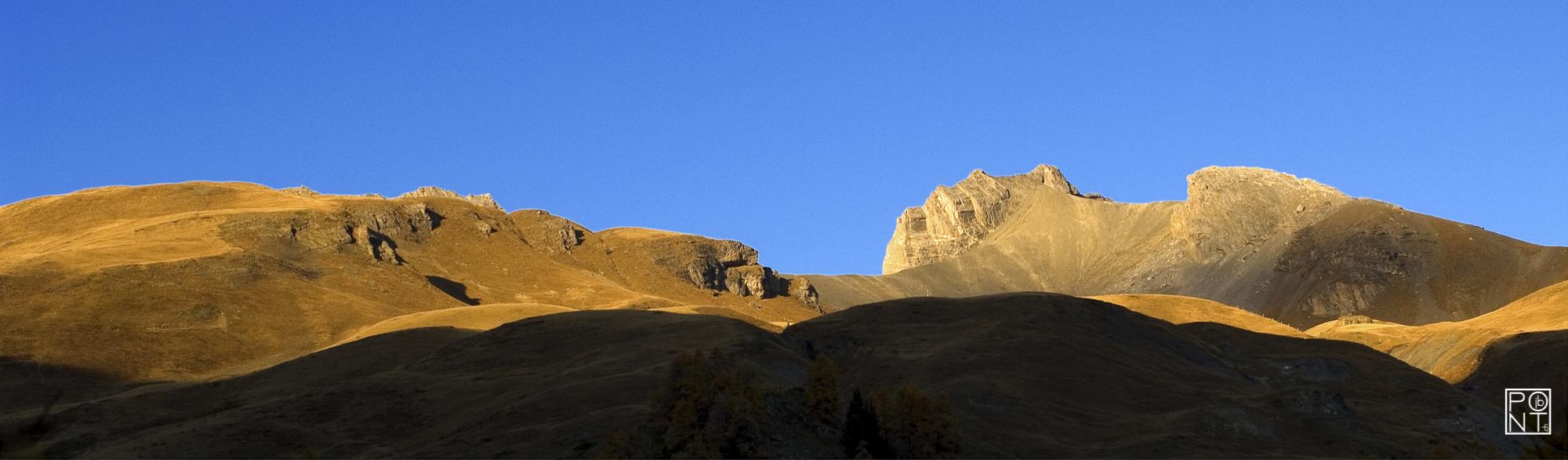 Col de la Roue, Vallon de la Tièche