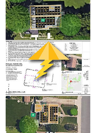 solar permit package design
