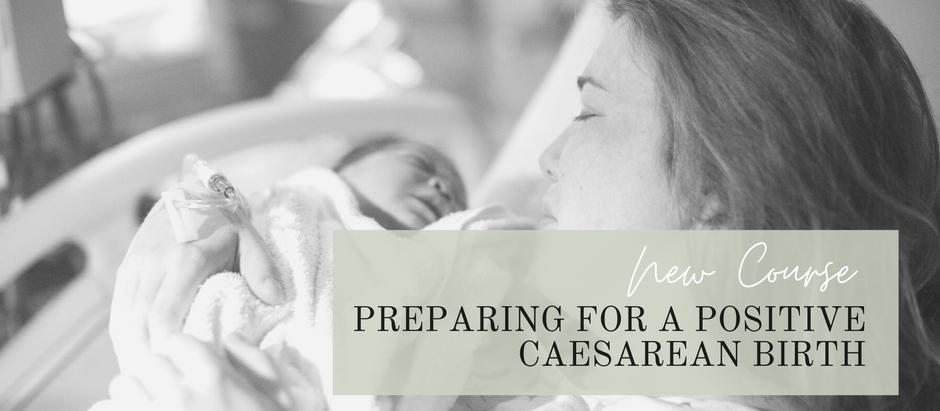 Preparing for a positive caesarean birth.