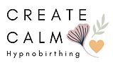 CREATE CALM Hypnobirthing logo March 202