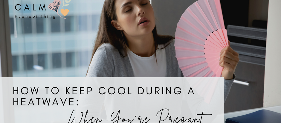 How to stay cool in the summer when you're pregnant