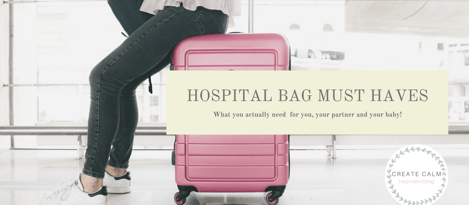Hospital Bag Must Haves - What to pack in your hospital bag for labour and birth...